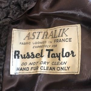 Vintage Jackets & Coats - 1960s Russel Taylor Winter Coat Beautiful Rare USA